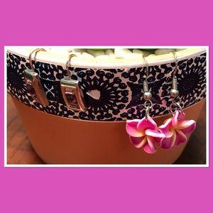 Bundle: Two Pairs of Pink Earrings